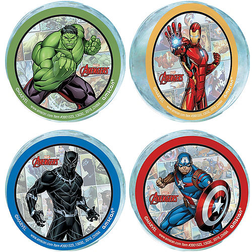 Marvel Powers Unite Bounce Balls 4ct Image #1