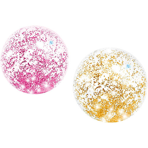 Glitter Beach Ball Image #1
