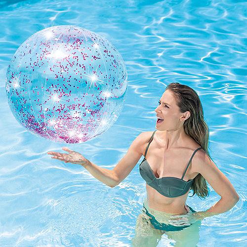 Glitter Beach Ball Image #3