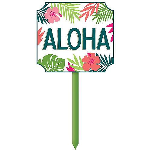 Aloha MDF Yard Sign, 29.75in Image #1