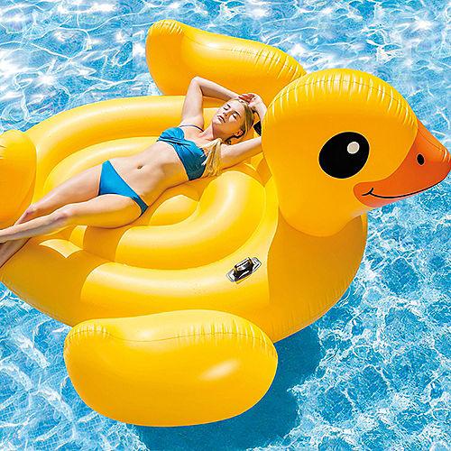 Giant Yellow Ducky Pool Float Image #2