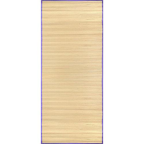 Purple Straw Beach Mat Image #1