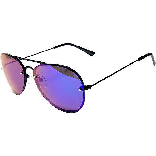 Child Blue Lens Aviator Sunglasses Image #2