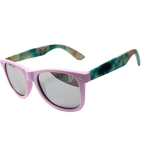 Child Tie Dye Wayfarer Sunglasses Image #2