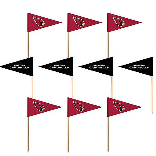 Arizona Cardinals Flag Picks 36ct Image #1