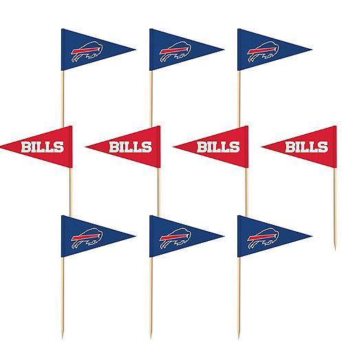 Buffalo Bills Flag Picks 36ct Image #1