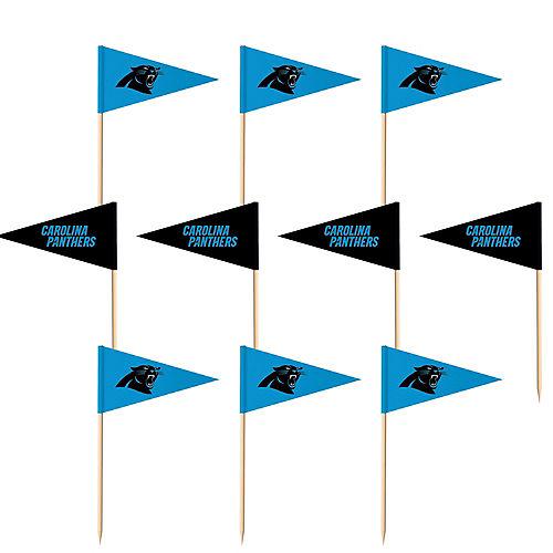 Carolina Panthers Flag Picks 36ct Image #1
