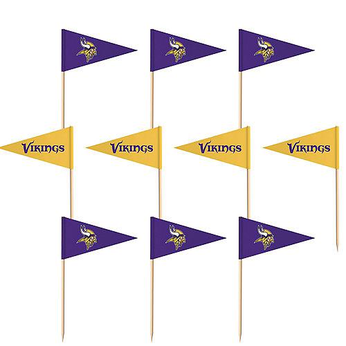 Minnesota Vikings Flag Picks 36ct Image #1
