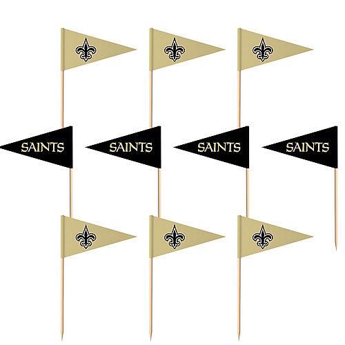 New Orleans Saints Flag Picks 36ct Image #1