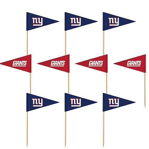 New York Giants Flag Picks 36ct Image #1