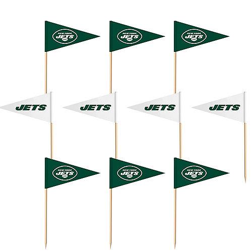 New York Jets Flag Picks 36ct Image #1