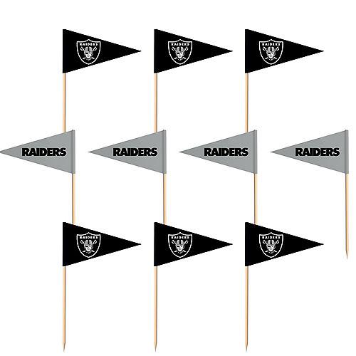 Las Vegas Raiders Flag Picks 36ct Image #1