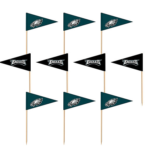 Philadelphia Eagles Flag Picks 36ct Image #1