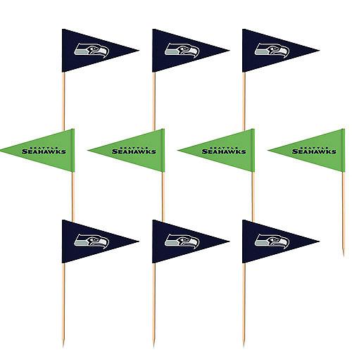 Seattle Seahawks Flag Picks 36ct Image #1