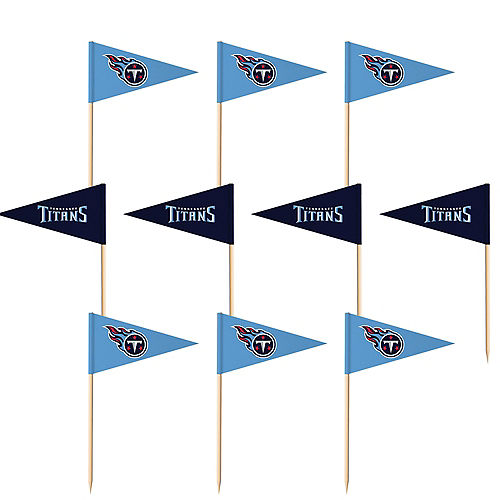 Tennessee Titans Flag Picks 36ct Image #1