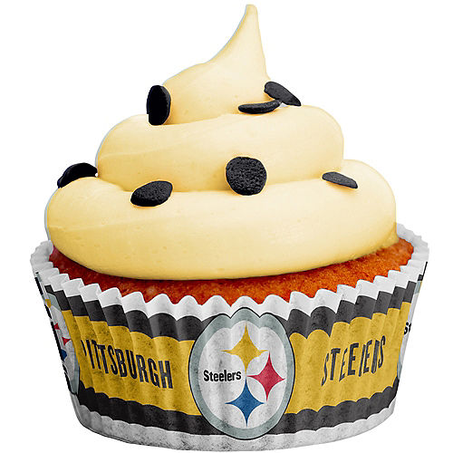 Pittsburgh Steelers Baking Cups 50ct Image #1