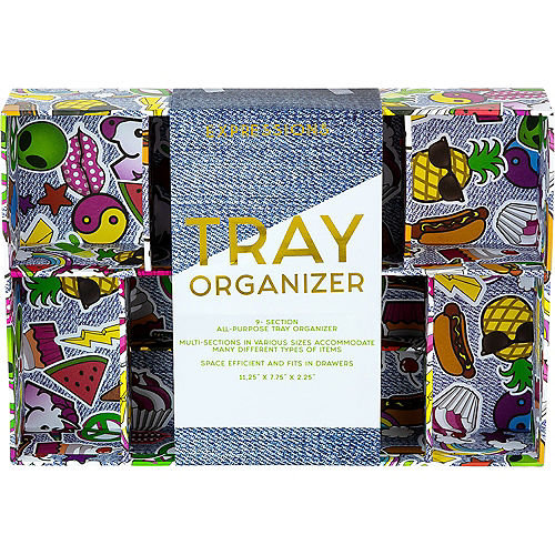 9-Section Novelty Patch Tray Organizer Image #2
