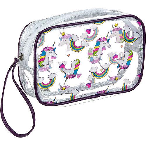 Transparent Unicorn Makeup Bag Image #1