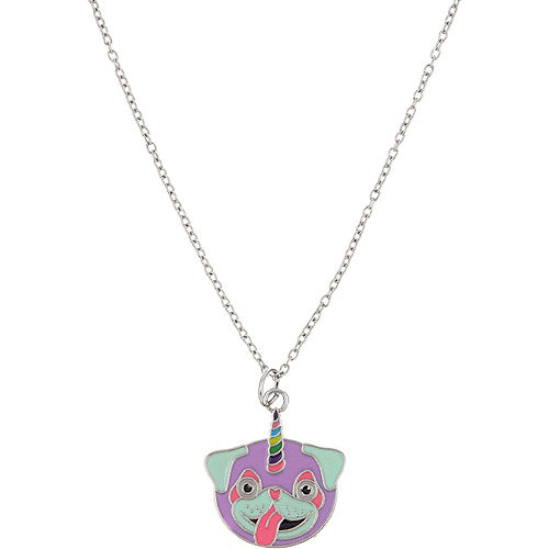 Neon Uni-Pug Necklace Image #1