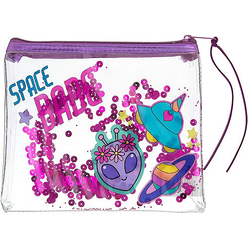 Confetti Shake UFO Makeup Bag Image #1