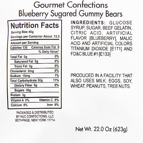 Blueberry Gummy Bears Image #2