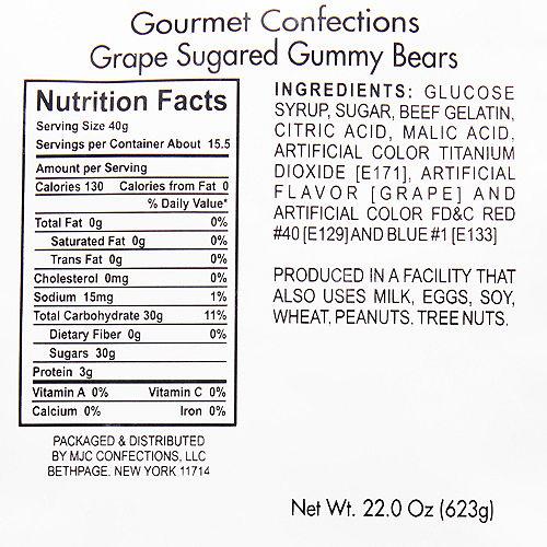 Grape Gummy Bears Image #2