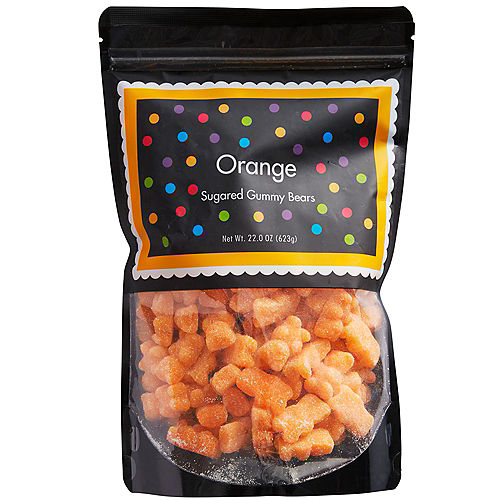 Orange Gummy Bears Image #1