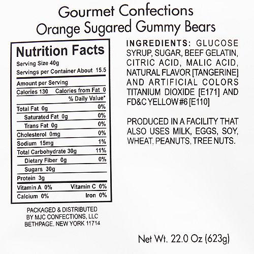 Orange Gummy Bears Image #2