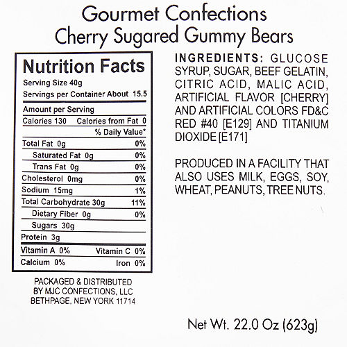 Cherry Gummy Bears Image #2