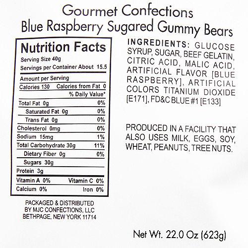 Blue Raspberry Gummy Bears Image #2
