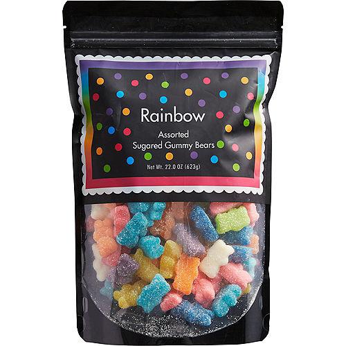 Assorted Rainbow Gummy Bears Image #1
