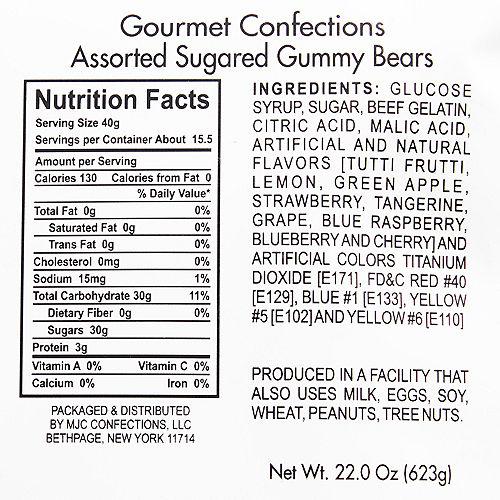 Assorted Rainbow Gummy Bears Image #2
