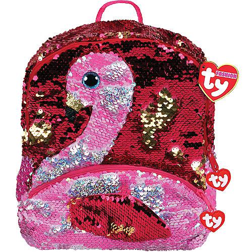 Gilda TY Fashion Flip Sequin Flamingo Backpack Image #1
