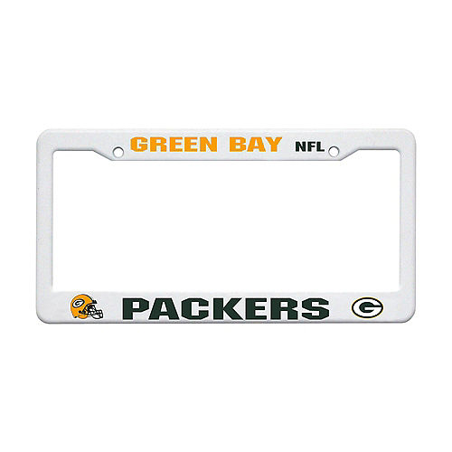 Green Bay Packers License Plate Frame Image #1