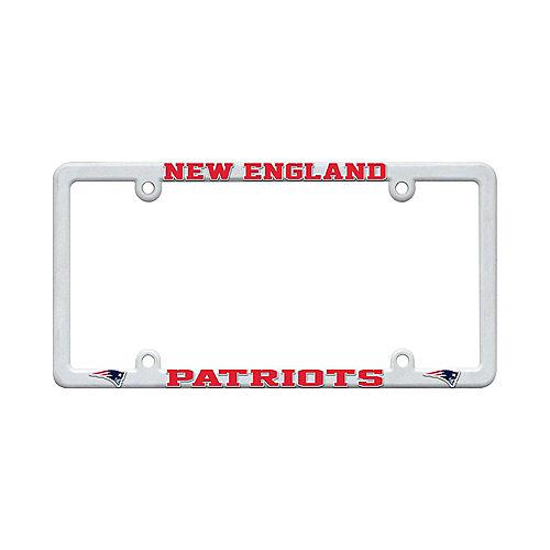 New England Patriots License Plate Frame Image #1