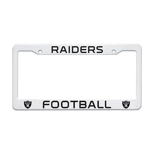 Las Vegas Raiders License Plate Frame Image #1