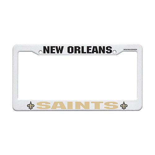 New Orleans Saints License Plate Frame Image #1