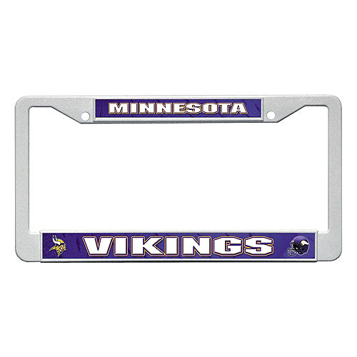 Minnesota Vikings License Plate Frame Image #1