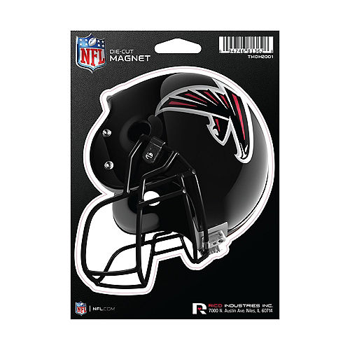 Atlanta Falcons Die-Cut Magnet Image #1
