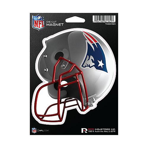 New England Patriots Die-Cut Magnet Image #1
