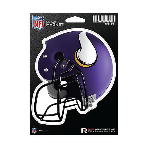 Minnesota Vikings Die-Cut Magnet Image #1