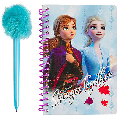 Frozen 2 Notebook with Marabou Pen Image #1