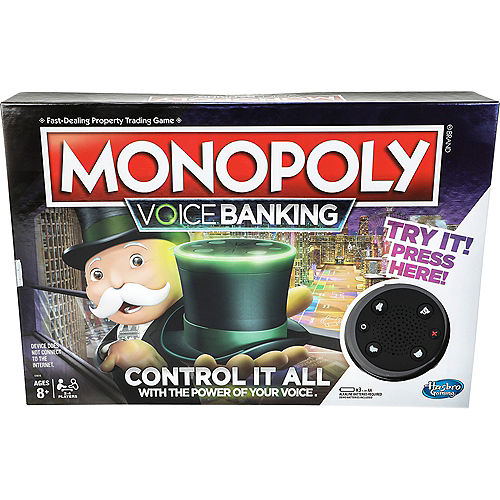 Monopoly Voice Banking Electronic Family Board Game Image #1