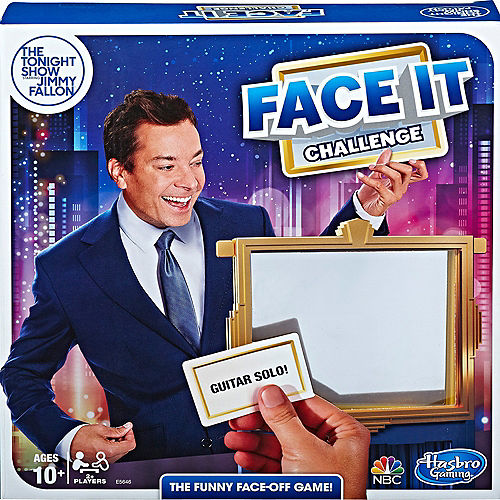 Face It Challenge - Jimmy Fallon Image #1
