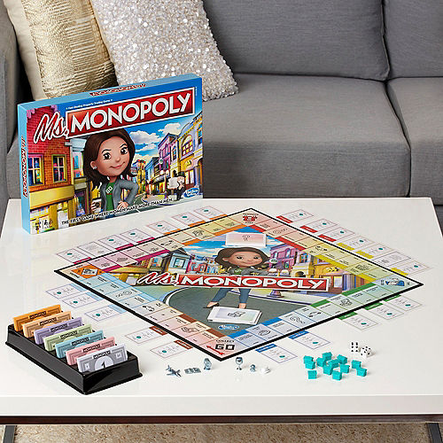 Ms. Monopoly Board Game Image #2