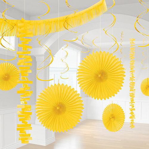 Sunshine Yellow Decorating Kit, 18pc Image #1