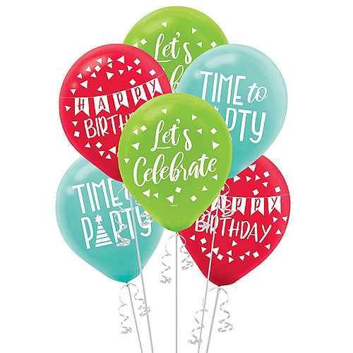 A Reason to Celebrate Balloons 15ct Image #1