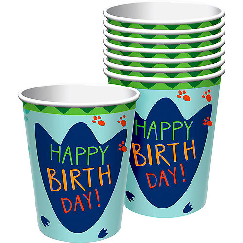 Dino-Mite Cups 8ct Image #1