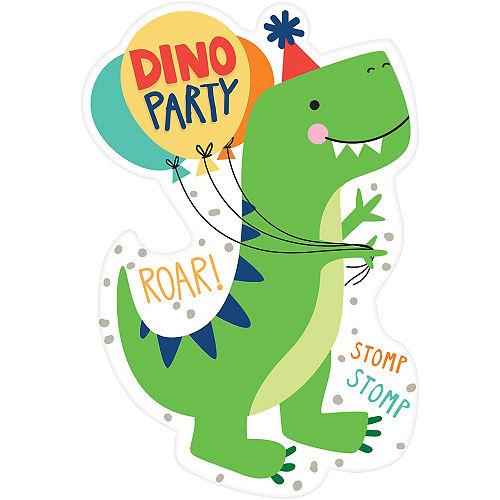 Dino-Mite Invitations 8ct Image #1