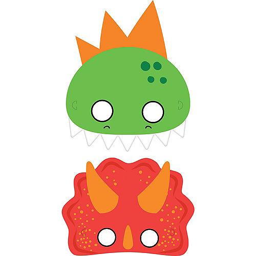 Dino-Mite Masks 8ct Image #1